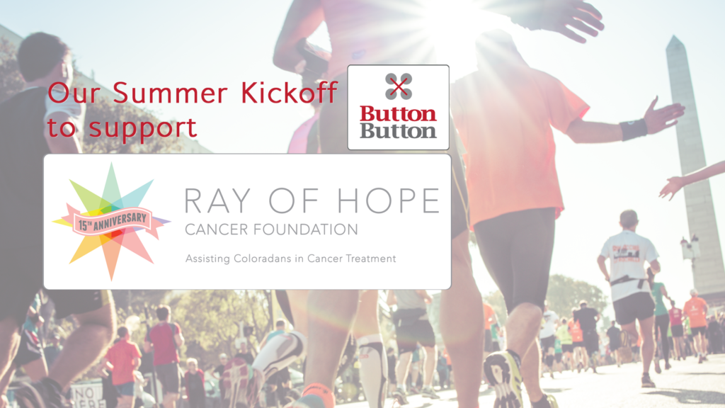 ray of hope denver james button